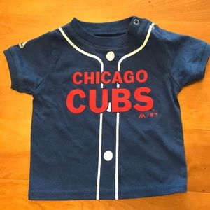 Majestic Chicago Cubs Baby T-Shirt 6/9 Months